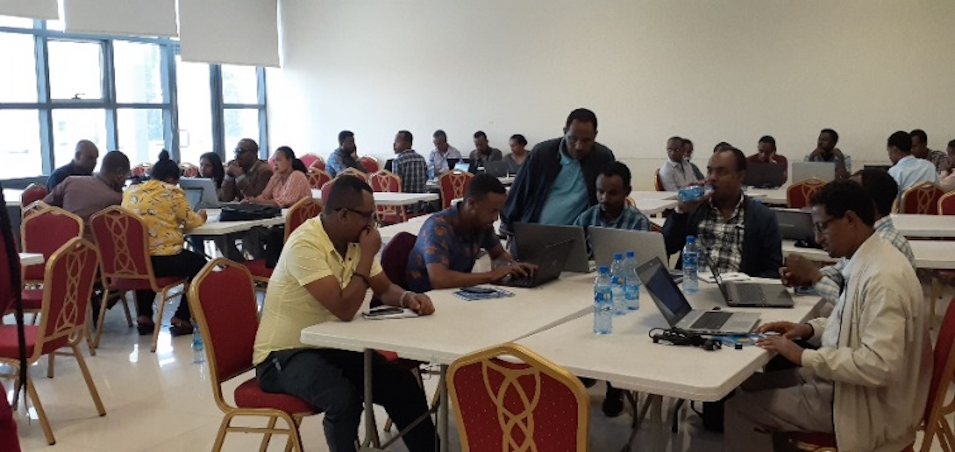 National Data Management Center Held Training on Burden of Disease for Ministry of Health and EPHI Staffs
