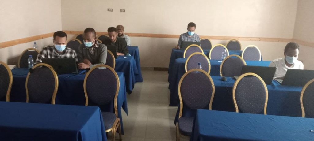 NDMC is conducting a six-day workshop at Hawassa to enhance the national Research Tracking Database System