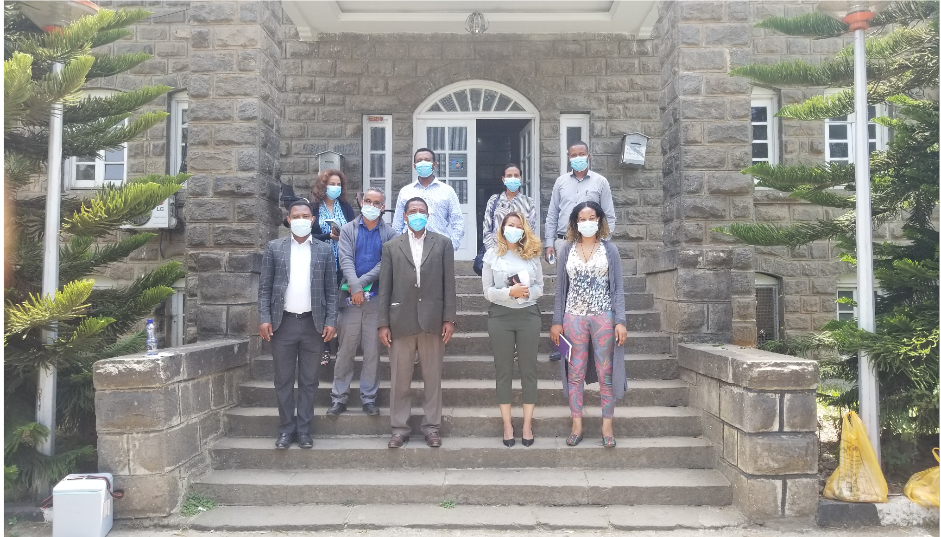 The National Data Management Center for health (NDMC) and the International Institute for Primary Health Care-Ethiopia (IIfPHC-E ) launch collaboration