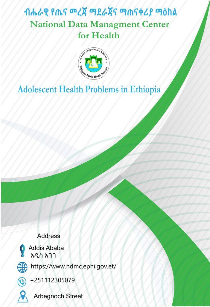 Adolescent Health Problems in Ethiopia