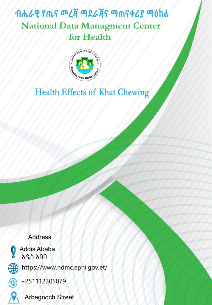 Health Effects of Khat Chewing